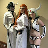 Ulquiorra Schiffer, Orihime Inoue, and Lilynette Gingerbuck