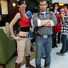Chloe Frazer and Nathan Drake