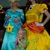Rosalina, Princess Daisy, and Fairy