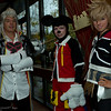 Ansem, Mickey Mouse, and Ventus