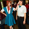 Asuka Langley Soryu and Shinji Ikari