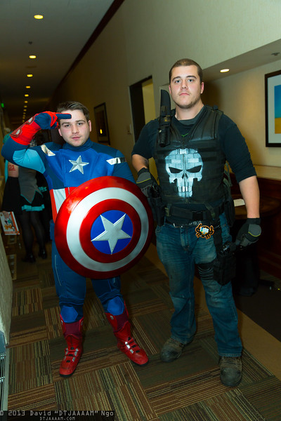 Captain America and Punisher