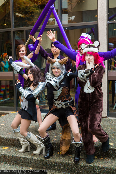 Shaundi, Elins, Boss, Pierce, Tibbers, and Annie Hastur