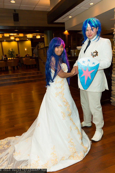 Twilight Sparkle and Shining Armor