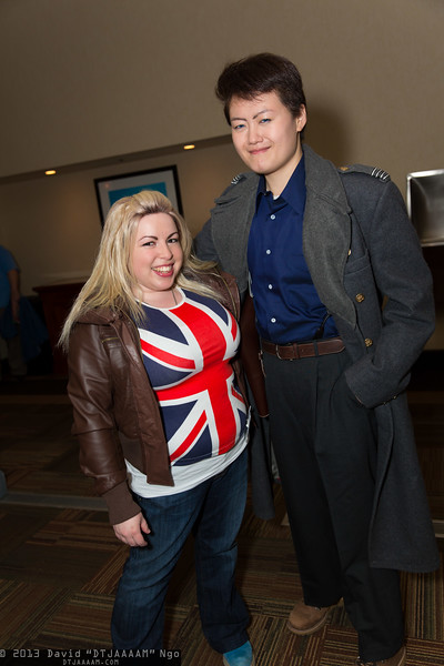 Rose Tyler and Captain Jack Harkness