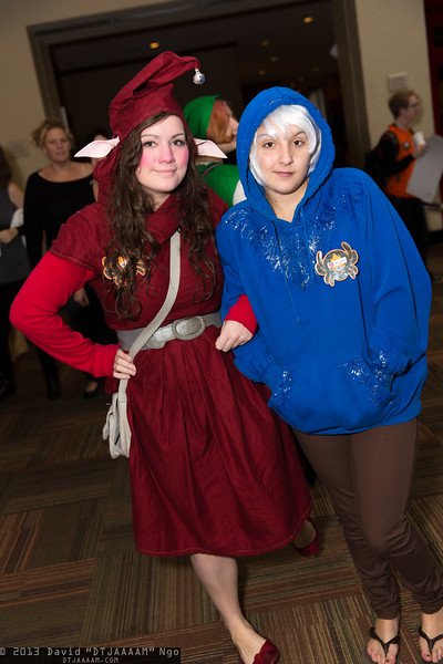 Elf and Jack Frost