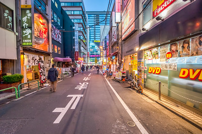 Sidestreet of Akihabara