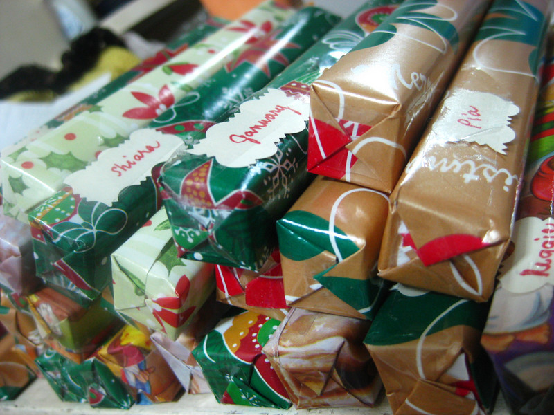 Day 360: <br /> <br /> These are hard to wrap. Really. I might not consider these next Christmas.