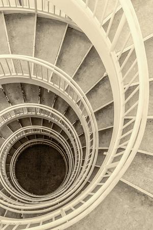 Akron Public Library Staircase