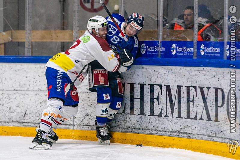 Swiss League - 19/20: EVZ Academy - HC Biasca Ticino Rockets - 03-12-2019