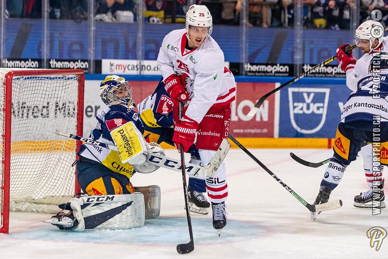 National League - 19/20: EV Zug - Lausanne HC - 17-09-2019