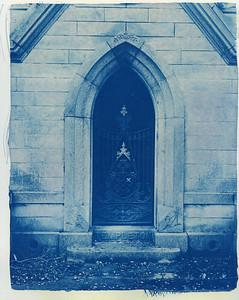 Cyanotype: Mountain View Cemetery