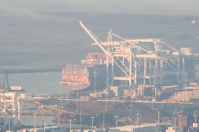 Port of Oakland, California, USA