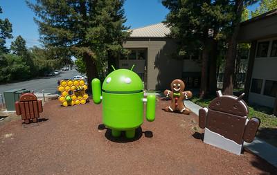 Google Android Statue Garden, Silicon Valley