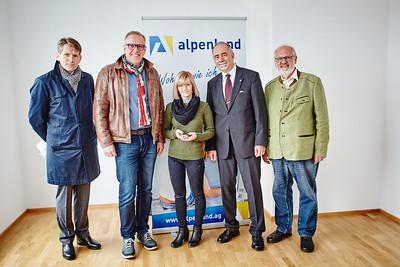 Alpenland Wohnungsübergabe