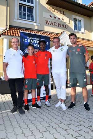 FC Bayern U14 in Melk