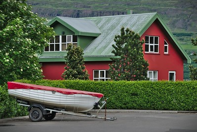 Boat and a House