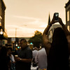 Julie Salas snaps a photo during the Al Fresco Fitchburg downtown dining event held on Thursday, July 20, 2017. SENTINEL & ENTERPRISE / Ashley Green