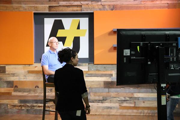 AJ+ new studios in San Francisco.