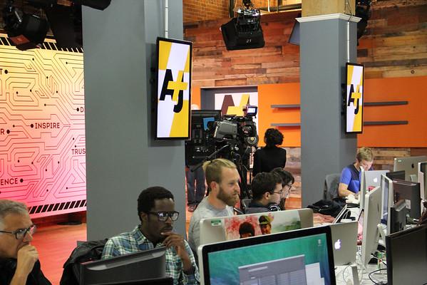 AJ+ new studios in San Francisco