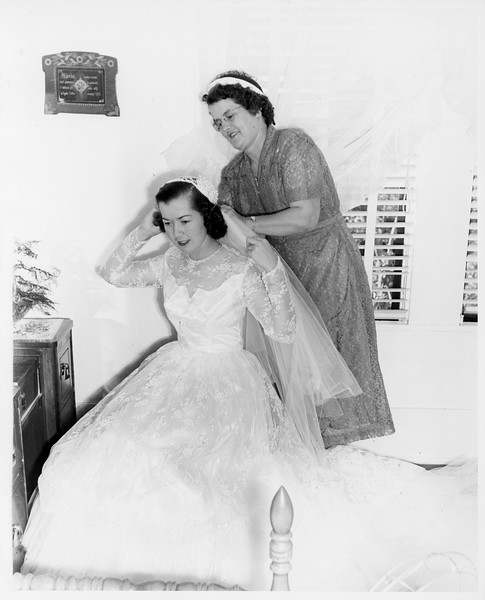 Mom and her mother, Mary Gurecky