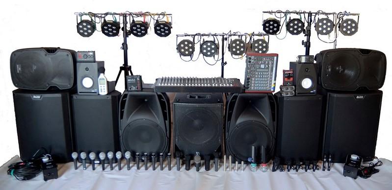 Gran parte del mio service audio - luci