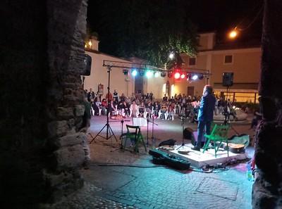 Installazione e service audio - luci in piazza San Rufo.
