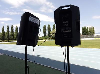 Amplificazione stadio di atletica leggera di Rieti
