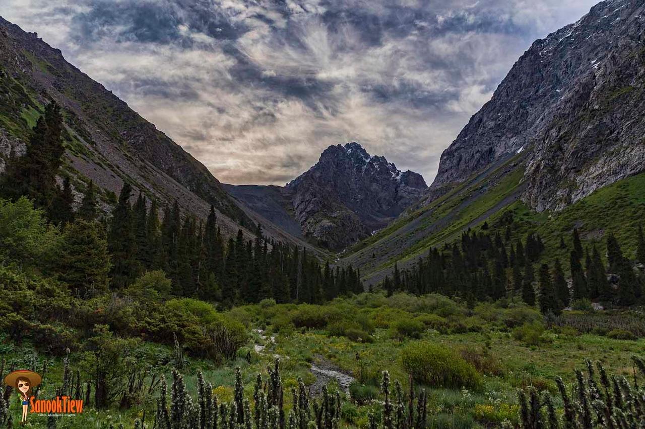 Ala Kul Trek ใน อุทยานแห่งชาติ Karakol Krygyzstan คีร์กีซสถาน