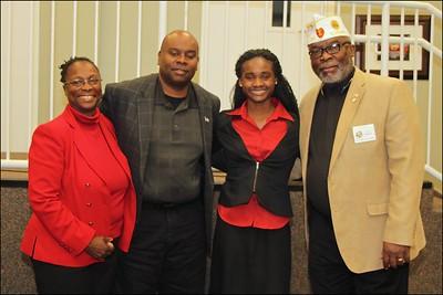 Linda Family with Alabama Department Junior Commander, Leroy Davis