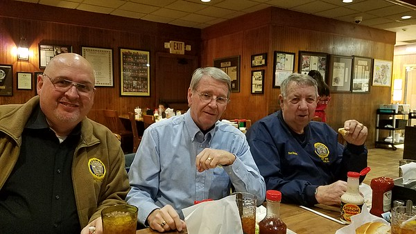 L-R: Barry Blount, Ron Koonce, Ronnie McGriff