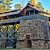 view of the Ironworks at Tannehill State Park in Alabama
