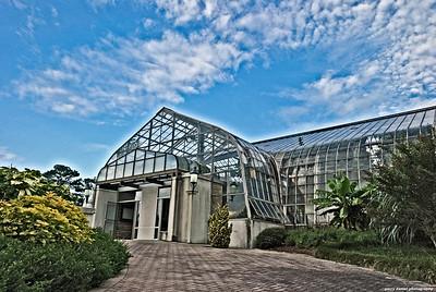 The greenhouse at Birmingham Botanical Gardens, Birmingham, AL