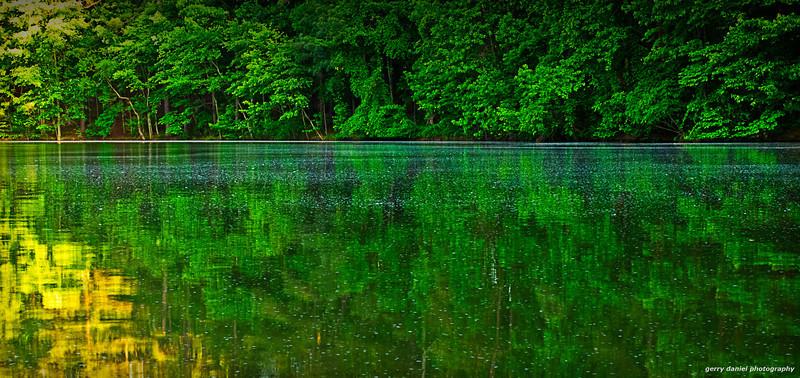 Lake scene from Aldridge Gardens, Hoover, AL