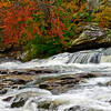 white water in autumn at Turkey Creek Nature Preserve, Pinson, AL