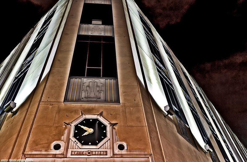 The McWane Center Building at night, Birmingham, AL