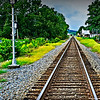 Train tracks in Fort Payne, AL