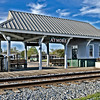 train station in Atmore, AL