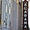 Alabama Theatre sign, 2nd Avenue North, Birmingham, AL