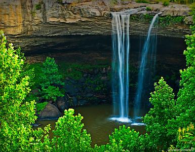 Another view of Noccalula Falls, Gadsden, AL