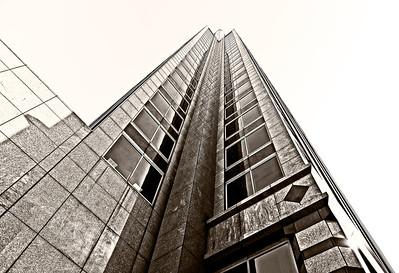 Birmingham, AL architecture, wide angle