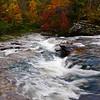 wide view of Turkey Creek Nature Preserve in autumn, Pinson, AL