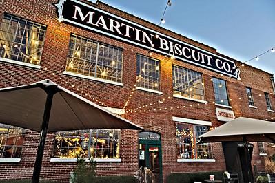 Martin Biscuit Co. sign, Pepper Place, Birmingham, AL