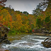 autumn scene at Turkey Creek Nature Preserve, Pinson, AL