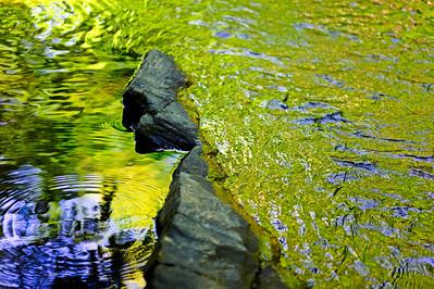 rocks water texture colors, Turkey Creek Nature Preserve, near Pinson, AL