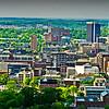 city skyline, Birmingham, AL