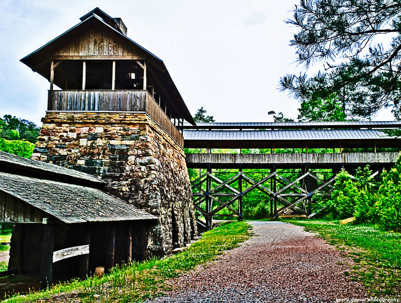Ironworks at Tannehill State Park in Alabama