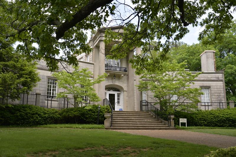 The Burritt Mansion Huntsville AL.