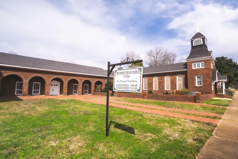 First Presbyterian Church in Fort Payne Alabama