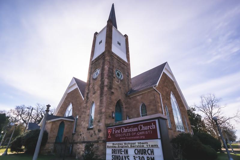 First Christian Church in Anniston Alabama